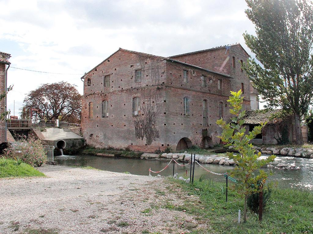 Le moulin de Saint-Rustice