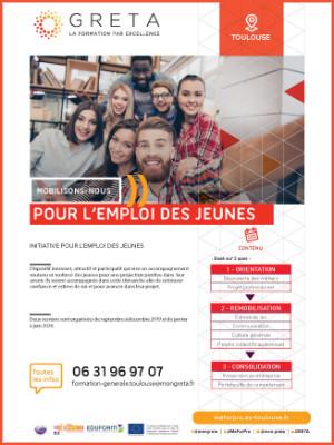 GRETA : Mobilisons-nous pour l'emploi des Jeunes